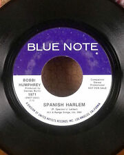 """Donald Byrd blue note 7"""" jazz funk 45 The Emperor part 1 & 2 promo copy VG"""