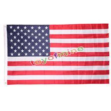 3 'x 5' pies. La bandera americana protagoniza ojales Poliéster Estados Unidos