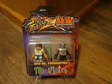 2012 DIAMOND SELECT MINIMATES-STREET FIGHTER x TEKKEN--RYU & YOSHIMITSU FIGURES