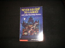 Never Say Boo to a Ghost by John L. Foster (1991, Paperback) Halloween