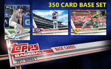 2017 Topps Series 1 Baseball 350 Card COMPLETE SET #1-350 | Available Now