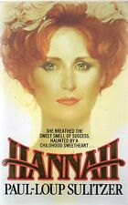 Hannah by Paul-Loup Sulitzer (1994 paperback)