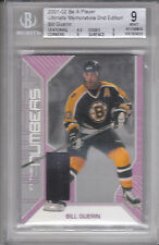 02 BE A PLAYER BAP ULTIMATE IN THE NUMBERS PATCH BILL GUERIN 2/20 BGS 9 BRUINS