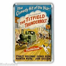 50's NOSTALGIA ' TITFIELD THUNDERBOLT' JUMBO Fridge Magnet