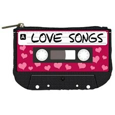 80s Love Songs Cassette Tape Womens Coin Bag Purse