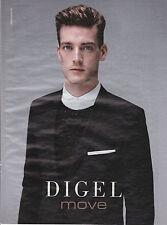 DIGEL MOVE HOMME - PUBLICITE PRESSE PAPER ADVERT- ANNEE 2014 - AUTOMOBILE CAR