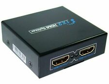 HDMI 1 In to 2 Out Splitter Amplifier for Dual Display Full HD