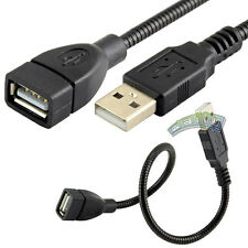 1Ft USB 2.0 A Male to A Female Sync Data Flexible Extension Extender Cable Cord
