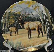 M1036 - WILD & FREE:CANADA'S BIG GAME THE ELK #5 DOMINION CHINA BY PAUL KRAPF