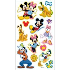"**BRAND NEW** Disney ""Mickey & Friends Puffy Stickers""14 Pieces"