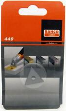 """Bahco Replacement 1"""" Scaper Blade Triangle #449 for #625 Scrapers"""