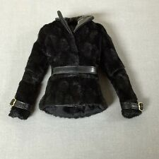 INTEGRITY TOYS NU FACE GISELLE ENERGETIC PRESENCE FAUX FUR JACKET WITH BELT