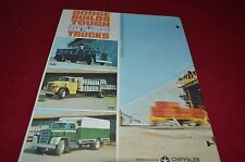 Dodge C500 C600 C700 Truck Dealer's Brochure YABE8