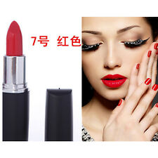 Women Party Fashion Makeup Long Lasting Bright Lipstick Red Black Purple Dark