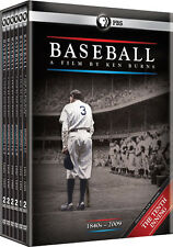 Baseball . A Film by Ken Burns . + 10th Inning . PBS . Documentary . 11 DVD NEU