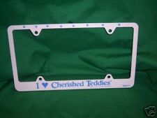 Cherished Teddies LICENSE PLATE COVER ***UNIQUE** HTF ** FREE USA SHIPPING