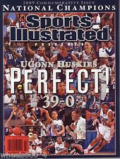 Sports Illustrated 2009 UCONN Womens Commemorative NCAA Championship 39-0