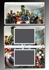 Avengers Captain America Iron Man Thor Shield Game Skin Cover 8 Nintendo DS Lite