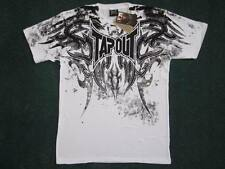 Tapout Corruption T-Shirt weiß Gr. S Tee MMA UFC Mixed Martial Arts neu