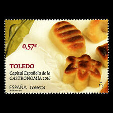 "Spain 2016 - Toledo ""Spanish Gastronomy Capital 2016"" Foot - MNH"