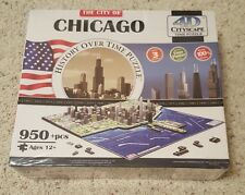 The City Of Chicago - History Over Time Puzzle - 4D CITYSCAPE Time Puzzle