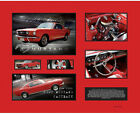 New 1966 Ford Mustang Fastback Limited Edition Memorabilia Framed
