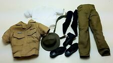 Military Uniform Weapons Accessories for 1/6 Scale Action Figure GI Joe Lot #404