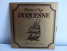 Disque pub DUQUESNE Chants et danses de la Martinique
