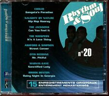 RHYTHM & SOUL N°20 - DISCO FUNK BLACK MUSIC MOTOWN - CD COMPILATION [461]