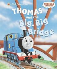 Thomas and the Big Big Bridge Little Golden Book by Awdry (2003, Hardcover)