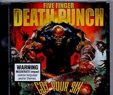 FIVE FINGER DEATH PUNCH-Got Your Six-CD-Brand New-Still Sealed