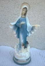 Our Lady statue mother of God Blessed Virgin Mary from MEDJUGORJE 7.9''
