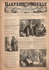 1871 Harpers Weekly June 17-Pittston Mine disaster;Communists are executed; Nast