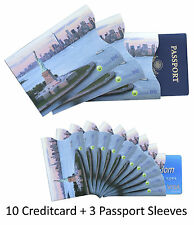 High Quality RFID Blocking Graphic Statue ofLiberty Creditcard Passport Sleeves