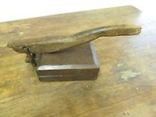 Antique Tortilla Press #12-Old Mexican-Primitive-Rustic-Wood-Original-17Lx8Wx8H