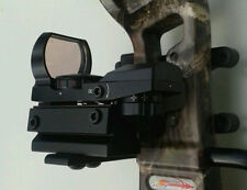 Micro Green/Red Dot Sight +Bracket For Archery Compund Bow Holographic Reflex