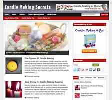 "Established ""Candle Making"" Niche Affiliate Website Business For Sale"
