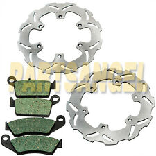 F+R Brake Rotor+Pads For Yamaha YZ 125 YZ 250  WR 250 1992-1997 1996 1995 1994
