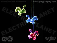 Horse Colour-Changing LED Glow Light Mobile, Battery-Powered, Children's Bedroom