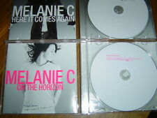 MELANIE C - HERE IT COMES AGAIN & ON THE HORIZON DVD CD SINGLE SET spice girls
