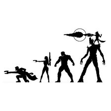 Guardians Of The Galaxy Vinyl Decal Sticker for Macbook Laptop Car Window Bumper