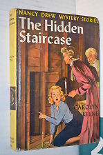 THE HIDDEN STAIRCASE Nancy Drew Mystery Stories Carolyn Keene Grosset Dunlap di