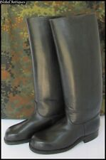 WWII ORIGINAL GERMAN WEHRMACHT OFFICERS LEATHER HIGH BOOTS