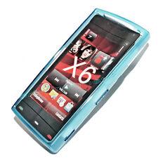 Silikon TPU Handy Cover Case Hülle Schale Schutzhülle in Blau für Nokia X6