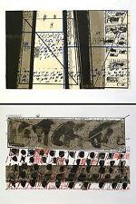 Otto Herbert Hajek: Briefe. Mappe mit 27 signierten/nummerierten Siebdrucken