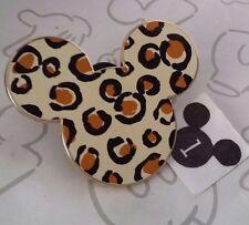 Mickey Mouse Head Icon Animal Print Leopard Cheetah 43628 Disney Pin Buy 2 Save