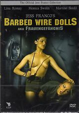 Barbed Wire Dolls DVD Jess Franco Original Brand New and Sealed UK Release