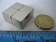 "2 of 1/2"" Cube Magnets NdFeB / Neodymium"