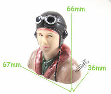 1/6, 1:6 WWII Pilot Figure L67xW36xH66mm US TH031-01708A