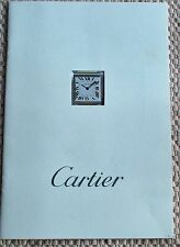 "CARTIER, ""TANK FRANCAISE WATCH"" 1997 CATALOG. (4321)."